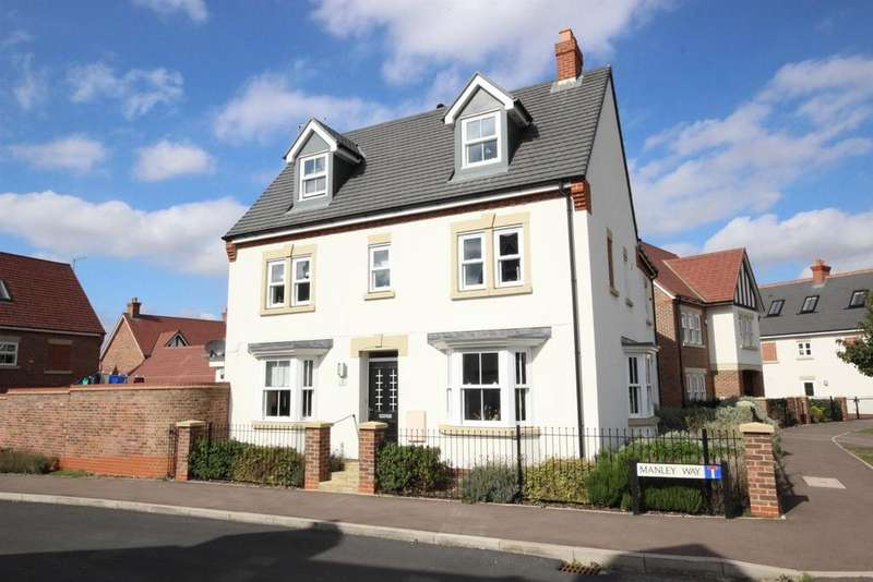 4 Bedrooms Semi Detached House for sale in Manley Way, Kempston