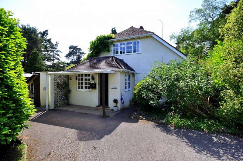 4 Bedrooms Detached House for sale in Matchams Lane, Christchurch, BH23 6AW