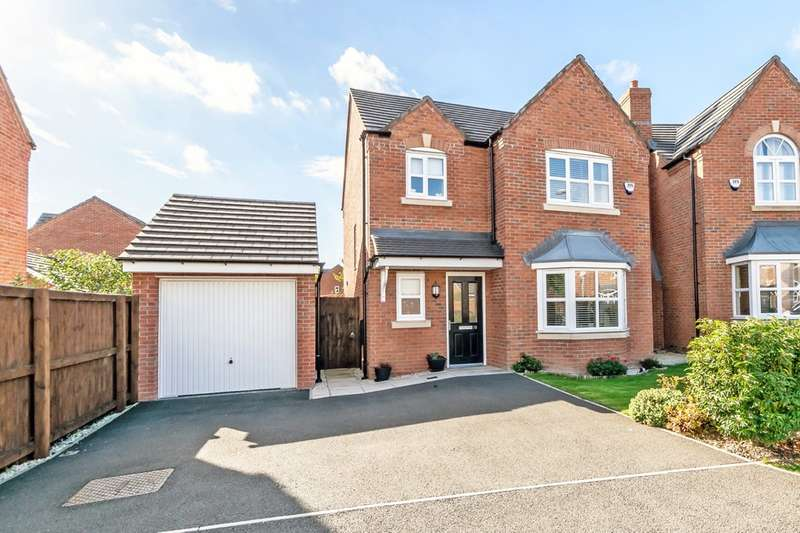 3 Bedrooms Detached House for sale in Edgewater Place, Edgewater Park, Cheshire