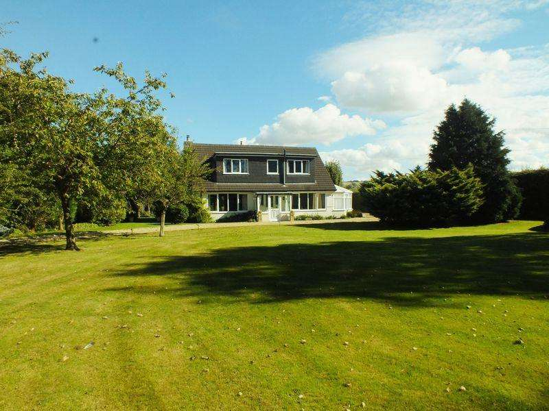 4 Bedrooms Detached House for sale in Mill Lane, Scamblesby in over 2.5 acres