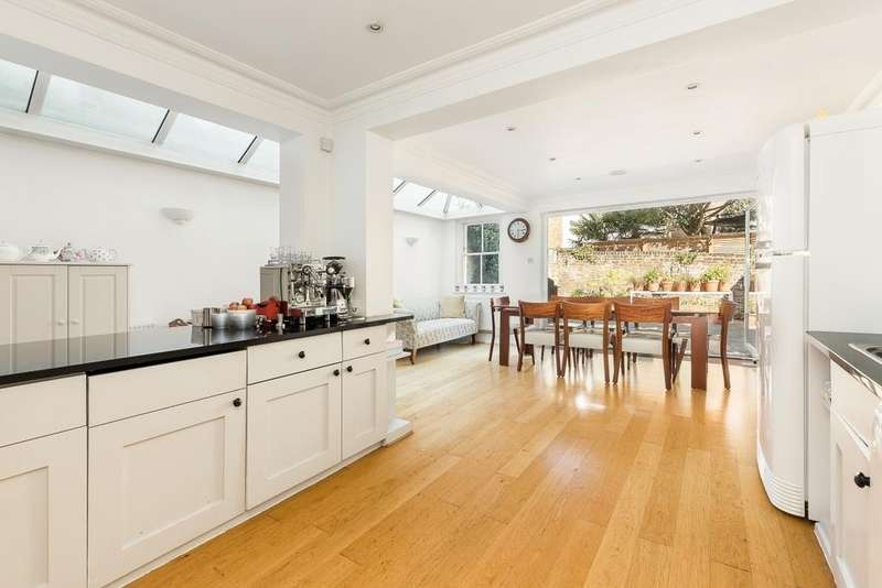 5 Bedrooms Semi Detached House for sale in Sterndale Road, Brook Green, London, W14