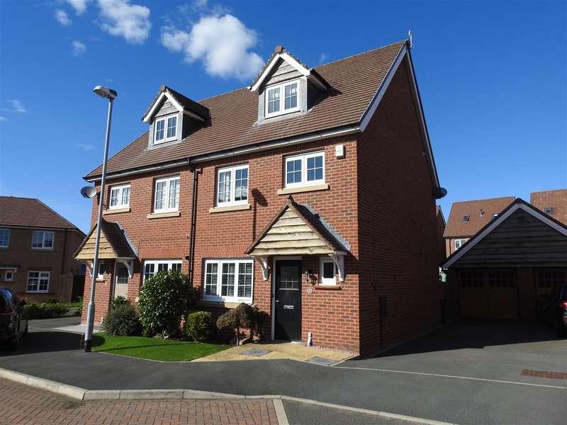 4 Bedrooms Semi Detached House for sale in Seaforth Crescent, Buckshaw Village