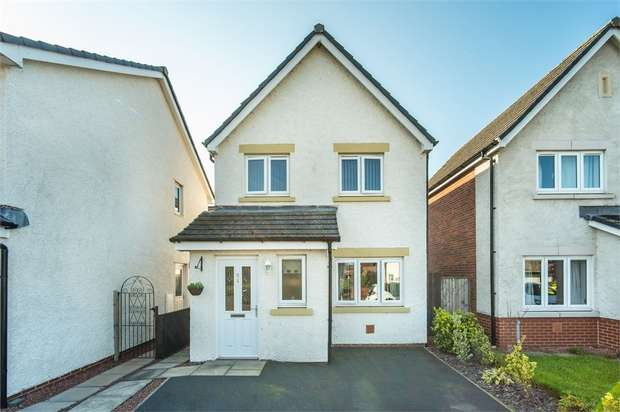 3 Bedrooms Detached House for sale in Mill Street, Longtown, Carlisle, Cumbria