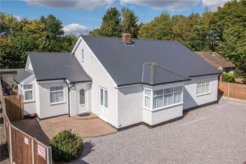4 Bedrooms Detached Bungalow for sale in Quest Bungalow, Ampthill Road, Houghton Conquest, Bedford