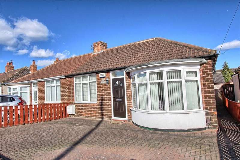 2 Bedrooms Semi Detached Bungalow for sale in St Oswalds Crescent, Billingham