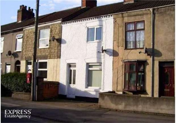 2 Bedrooms Terraced House for sale in Belvoir Road, Coalville, Leicestershire