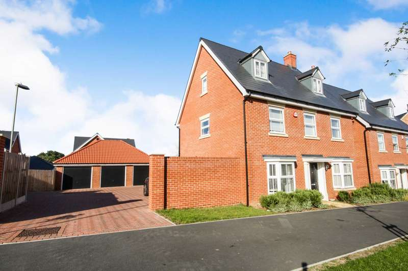 5 Bedrooms Detached House for sale in School Avenue, Dunton Fields