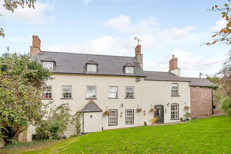 6 Bedrooms Detached House for sale in Marstow, Ross-On-Wye