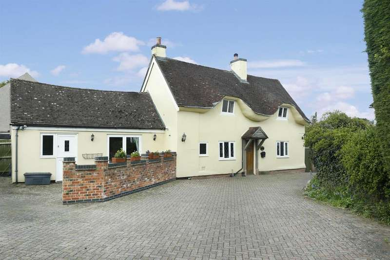 3 Bedrooms Detached House for sale in The Square, Wolvey, Hinckley