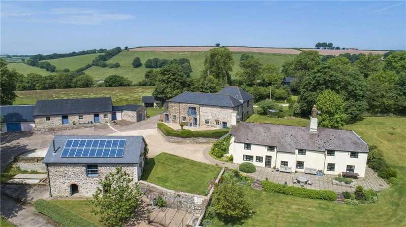 5 Bedrooms Farm House Character Property for sale in Raddington, Taunton, Somerset, TA4