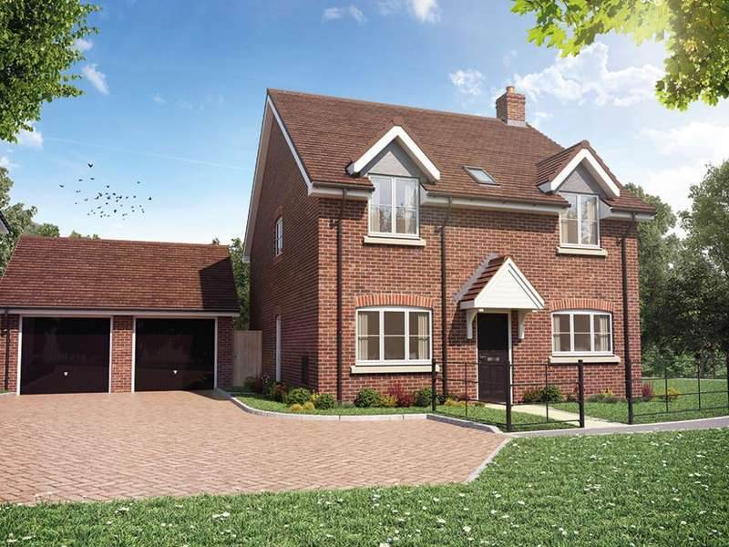 4 Bedrooms Detached House for sale in Sheldons Reach, Reading Road, Hook