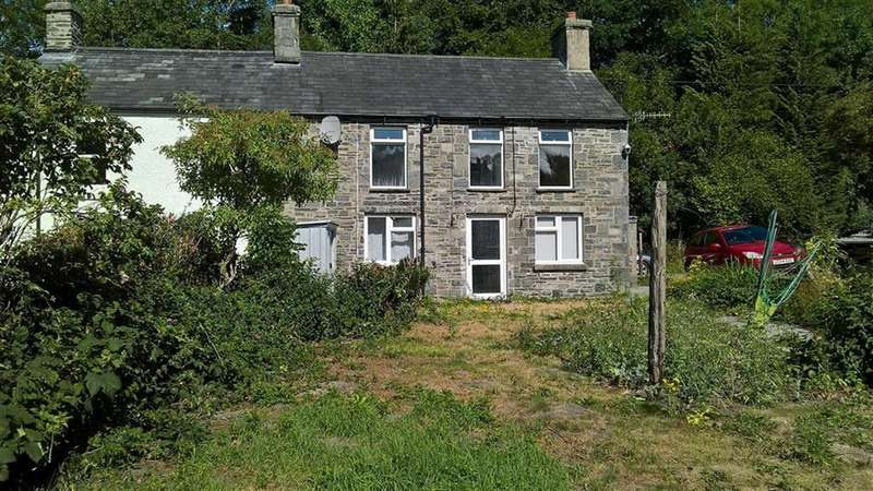 3 Bedrooms End Of Terrace House for sale in Frondeg, Doldre, Tregaron, SY25