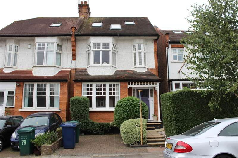 4 Bedrooms Semi Detached House for sale in Halliwick Road, Muswell Hill, London