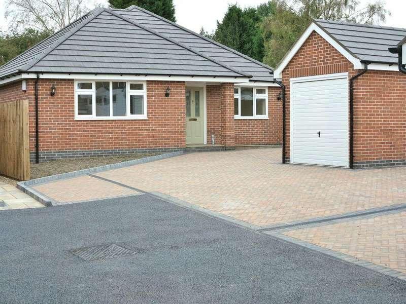 3 Bedrooms Detached Bungalow for sale in Douglas Gardens, Off Douglas Avenue , Heanor, Derbyshire, DE75 7FQ