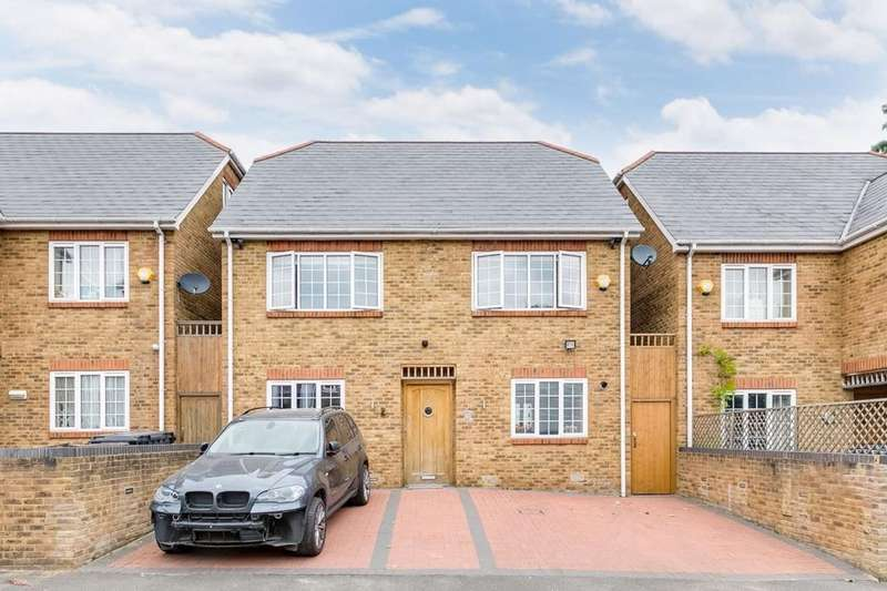 4 Bedrooms Detached House for sale in Manor Farm Cottages, Goldsmith Close, East Acton, W3