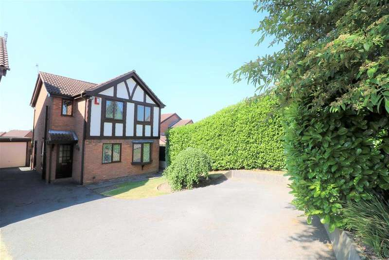 3 Bedrooms Detached House for sale in Perivale Close, Birches Head, Stoke-On-Trent