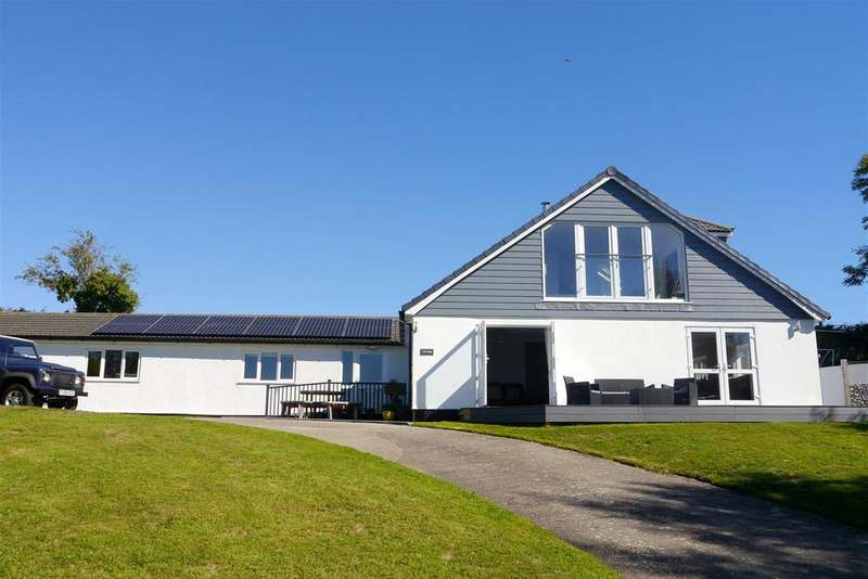 5 Bedrooms Detached House for sale in Ruanlanihorne, Truro