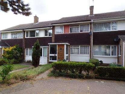 3 Bedrooms Terraced House for sale in Beech Walk, Kempston, Bedford, Bedfordshire