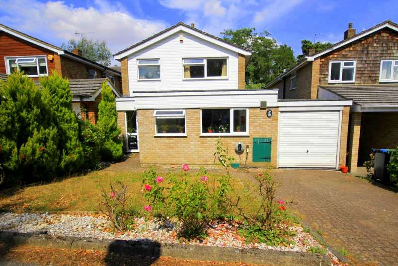 4 Bedrooms Link Detached House for sale in EXTENDED 4 BED HOME WITH GARAGE IN PREMIER LEVERSTOCK GREEN LOCATION