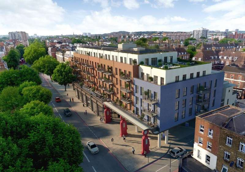 1 Bedroom Flat for sale in Lyons Place, St John's Wood, London