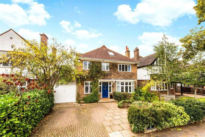 5 Bedrooms Detached House for sale in Cassiobury Drive, Watford, Hertfordshire, WD17