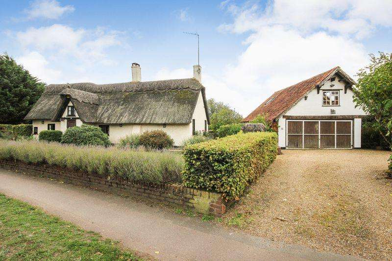 4 Bedrooms Detached House for sale in Pennyfathers Cottage, Clophill Road, Maulden