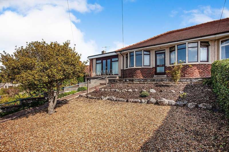 3 Bedrooms Semi Detached Bungalow for sale in Hawthorn Road, Bolton Le Sands, Carnforth, LA5