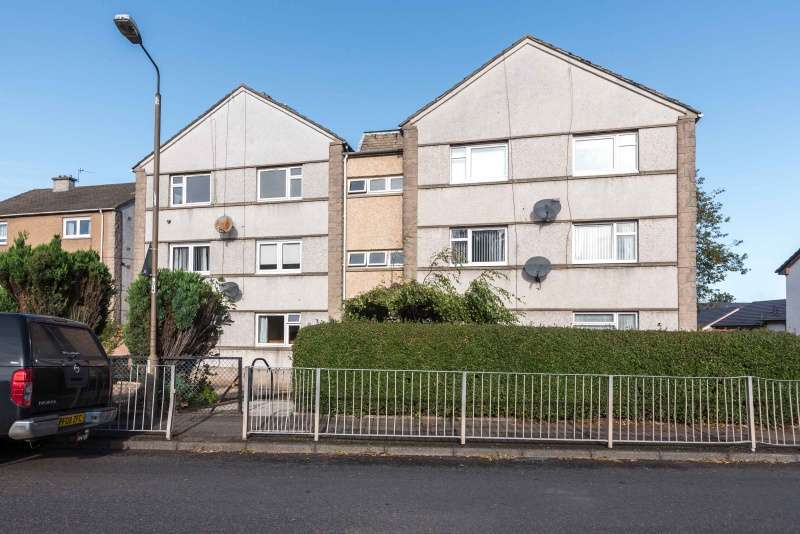2 Bedrooms Ground Flat for sale in Edgefield Road, Loanhead, Edinburgh, EH20 9DX