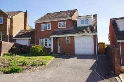 4 Bedrooms Detached House for sale in Carmarthen Close, Yate, Bristol, Gloucestershire