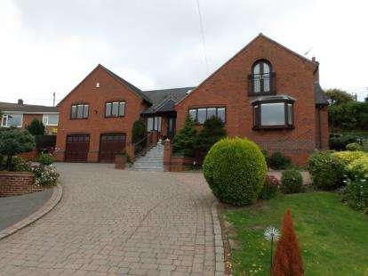 4 Bedrooms Detached House for sale in Elder Lane, Griffydam, Coalville