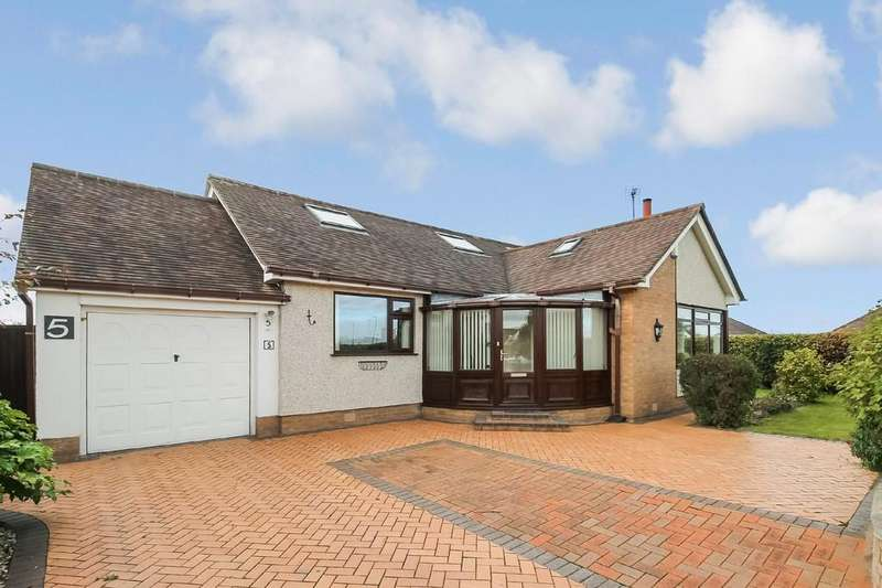 4 Bedrooms Detached Bungalow for sale in Barrfield Road, Rhuddlan