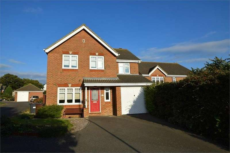 4 Bedrooms Detached House for sale in Patcham Mill Road, Stone Cross, Pevensey, East Sussex