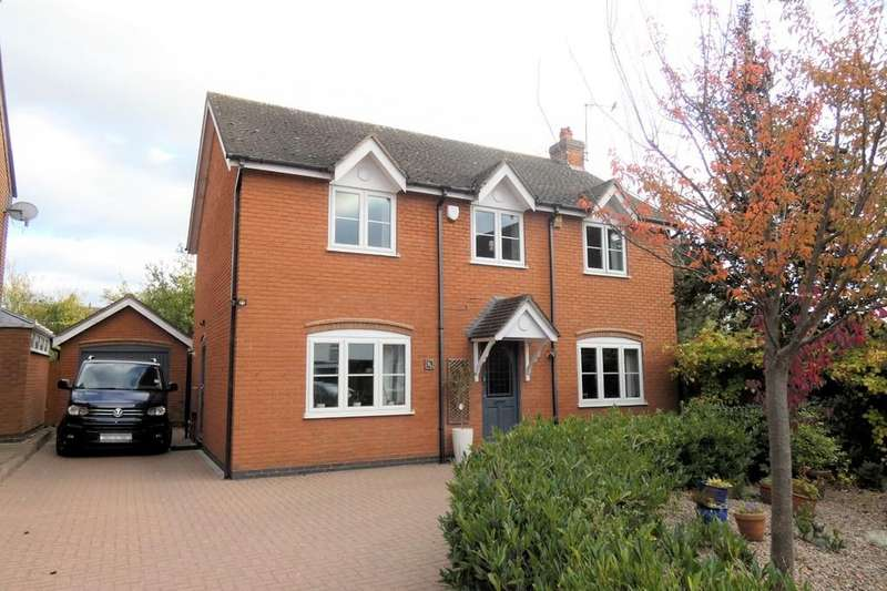 4 Bedrooms Detached House for sale in Main Street, Blackfordby