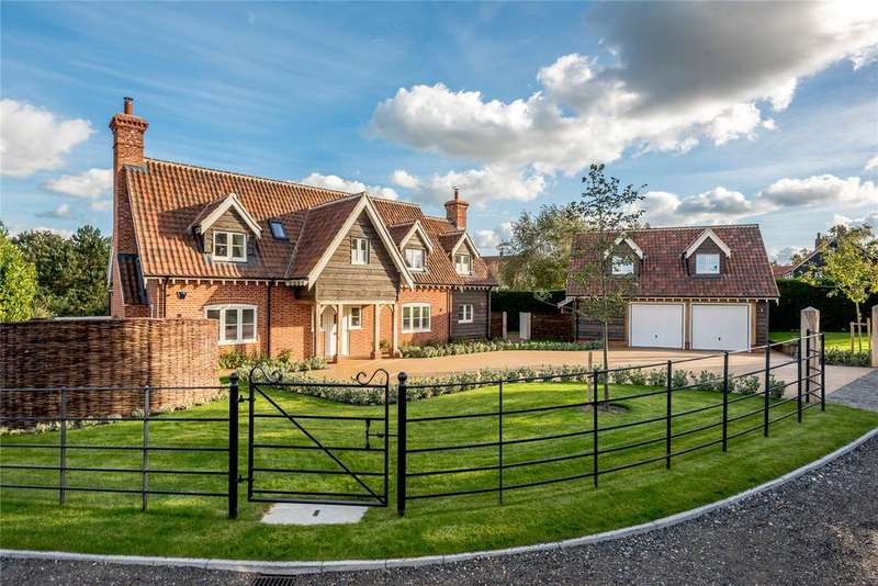 5 Bedrooms Detached House for sale in Mirna, Harbour View, Manor Close, Walberswick, IP18