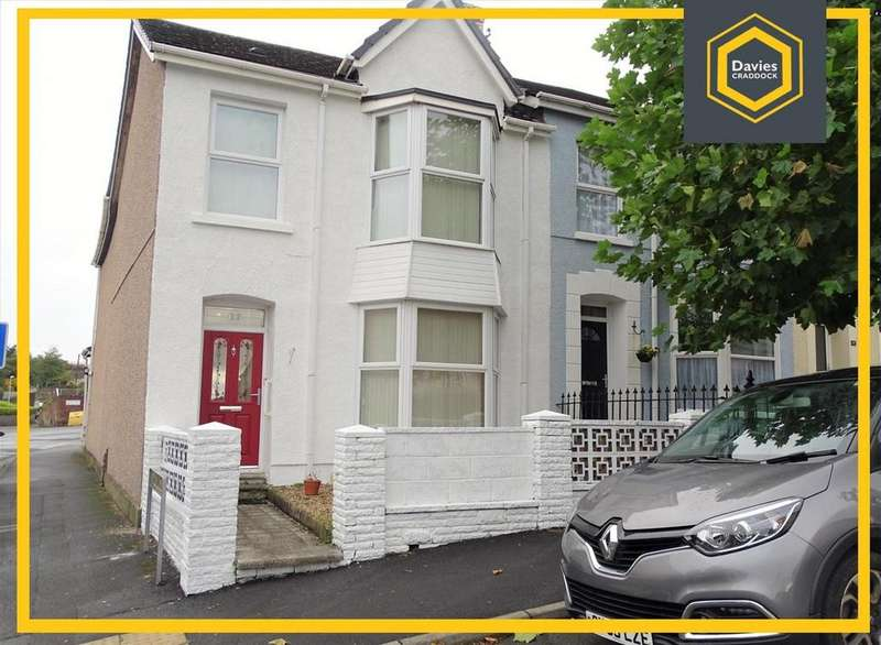 4 Bedrooms End Of Terrace House for sale in Alban Road, Llanelli, SA15