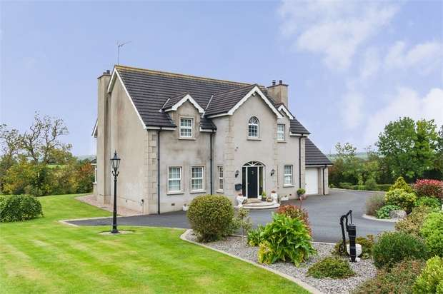 4 Bedrooms Detached House for sale in Old Mill Road, Scarva, Craigavon, County Down