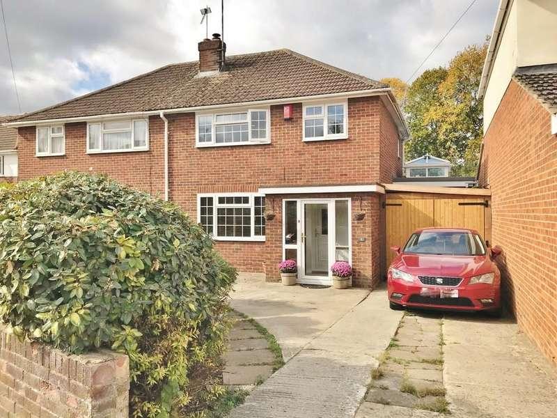 4 Bedrooms Semi Detached House for sale in Masefield Avenue, Swindon