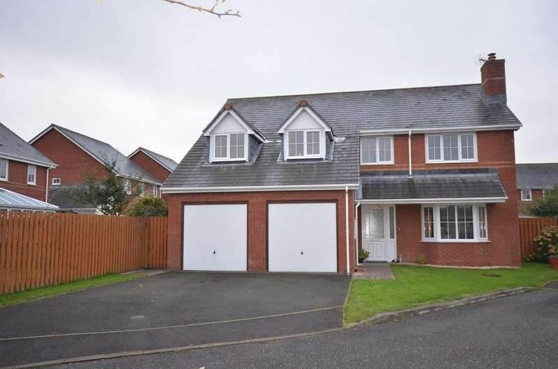 5 Bedrooms Detached House for sale in Clos Dafydd, Aberystwyth