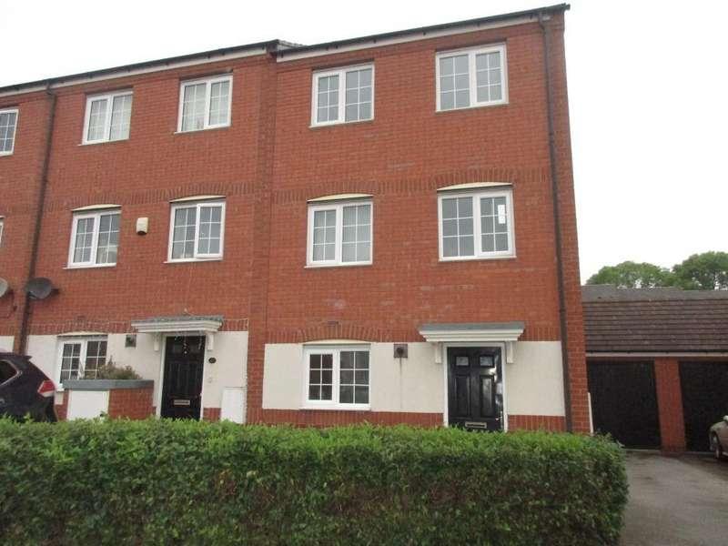 4 Bedrooms Town House for sale in Disraeli Crescent, Ilkeston, Derbys DE7