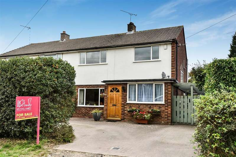 3 Bedrooms Semi Detached House for sale in Heath Hill Road South, Crowthorne, Berkshire RG45 7BP