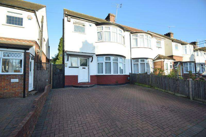 3 Bedrooms Semi Detached House for sale in Wardown Crescent, Luton