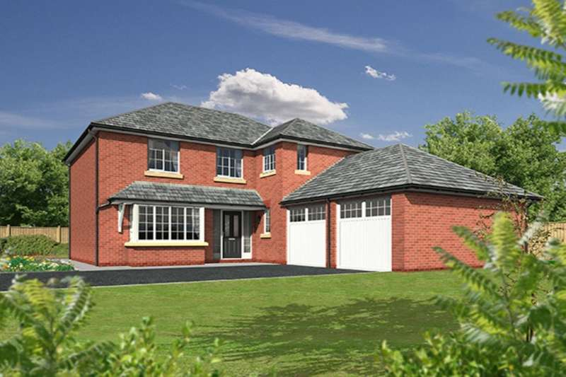 4 Bedrooms Detached House for sale in Sandy Lane, Higher Bartle, Preston, PR4