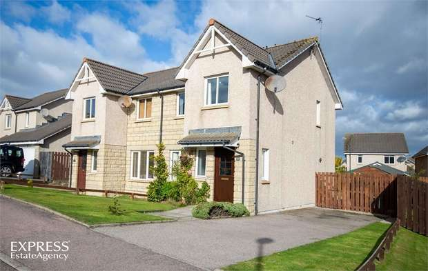 3 Bedrooms Semi Detached House for sale in Breckview, Pitmedden, Ellon, Aberdeenshire