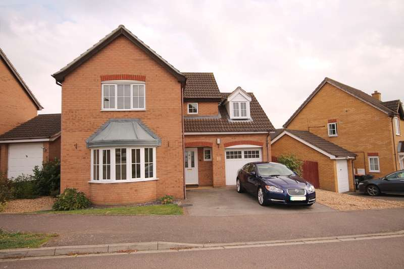 4 Bedrooms Detached House for sale in Thor Drive, Cranbourne Gardens, Bedford, MK41