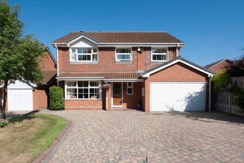 5 Bedrooms Detached House for sale in Musgrave Close, Sutton Coldfield