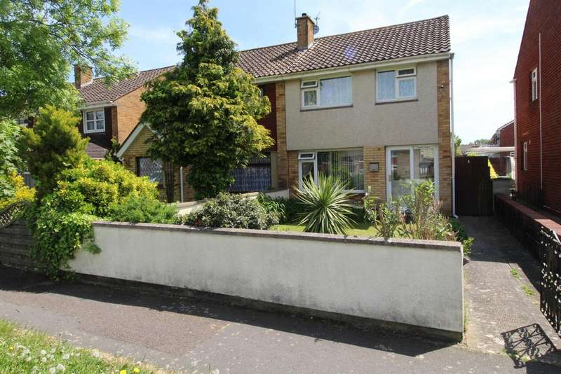 3 Bedrooms Semi Detached House for sale in Lowbourne , Whitchurch, Bristol