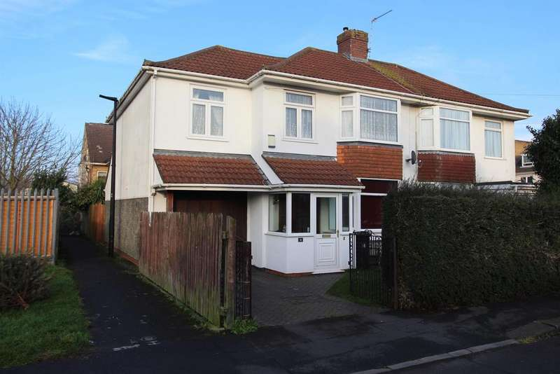 4 Bedrooms Semi Detached House for sale in Cranleigh Road , Whitchurch, BS14 9PL