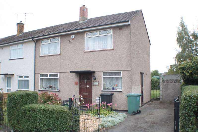3 Bedrooms End Of Terrace House for sale in Sandburrows Road, Highridge, Bristol, BS13 8EE