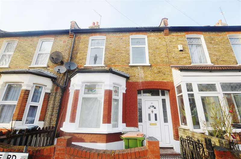 3 Bedrooms Terraced House for sale in Haldane Road, East Ham, London, E6 3JH