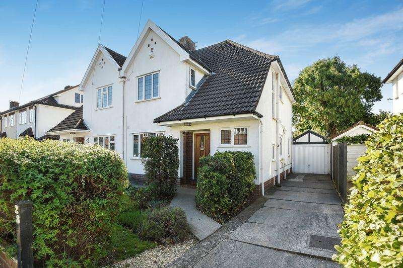 3 Bedrooms Semi Detached House for sale in Coniston Avenue, Bristol